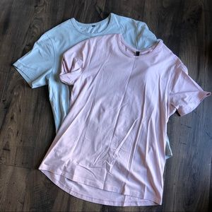 Lululemon 5 Year Basic T Shirt Set NEW L Soft
